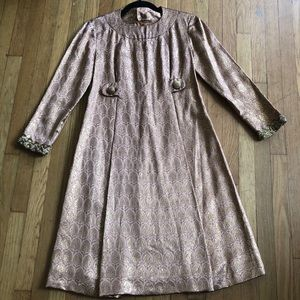 1960s Elinor Simmons Malcolm Star Vintage Dress
